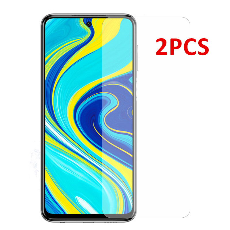 2Pcs Screen Protector For Xiaomi Redmi Note 9S 8 Pro 7 Tempered Glass Protective Phone Film For Xiaomi Redmi 8A 7A 6A 6 5A 4A S2