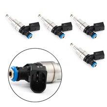 Areyourshop 4Pcs Fuel Injectors Fit For Audi TT Mk2 A4 B7 For Golf MK5 2.0T 0261500020 F00VH35003 Car Auto Accessories Pats