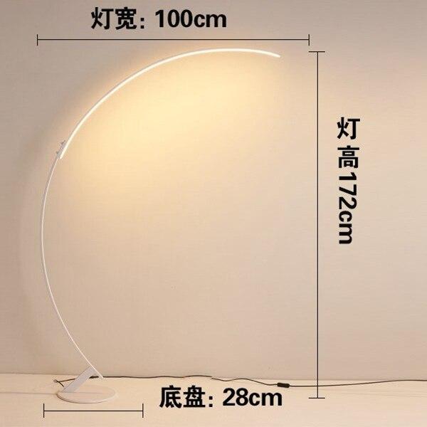Floor lamp A white