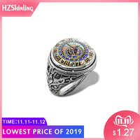 2019 New Astronomical Steampunk Vintage Ring Vintage Clock Rings Glass Dome Cabochon Handmade Jewelry