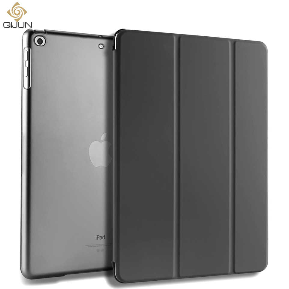 Qijun Voor Ipad Mini 1 2 3 4 5 7.9 Inch Case Cover Smart Pu Leather Stand Back Fundas Voor ipad Mini 1/2/3 Mini5 2019 Auto Sleep