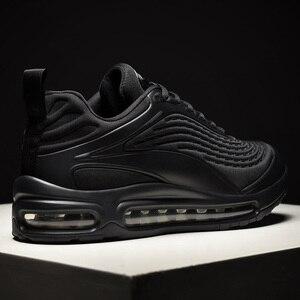 Image 1 - 2020 אופנה שחור להחליק על לנשימה באיכות גבוהה גברים סניקרס נוח מקרית להחליק על נעלי זכר מגפיים אדם רץ