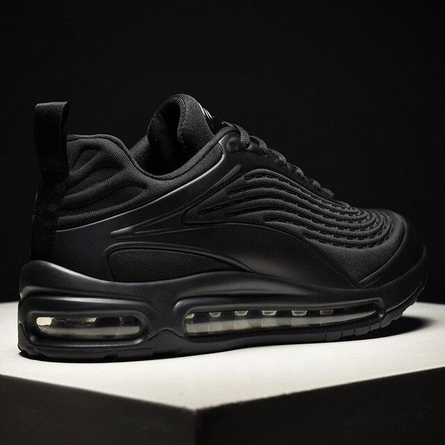 2020 אופנה שחור להחליק על לנשימה באיכות גבוהה גברים סניקרס נוח מקרית להחליק על נעלי זכר מגפיים אדם רץ