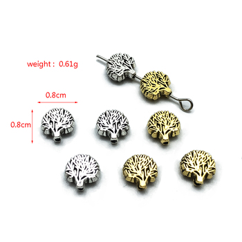 30pcs charm life tree perforated beads connection for fashion jewelry making DIY handmade bracelet necklace accessories 30pcs mixed tibetan silver tone crown key animal charm pendants for bracelet necklace jewelry accessories diy jewelry making