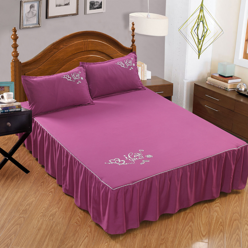 Solid color Sanding Fabric Bedspread With strap plain Bedroom bed cover for Home/hotel Decoration Printed Coverlet 12 color|Bedspread| |  - title=