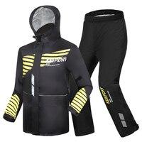 Motorcycle Raincoat Rain Pants Suit Male Rain Coat Thick Waterproof Outdoor Rain Jacket Climbing Hiking Impermeable Gift Ideas