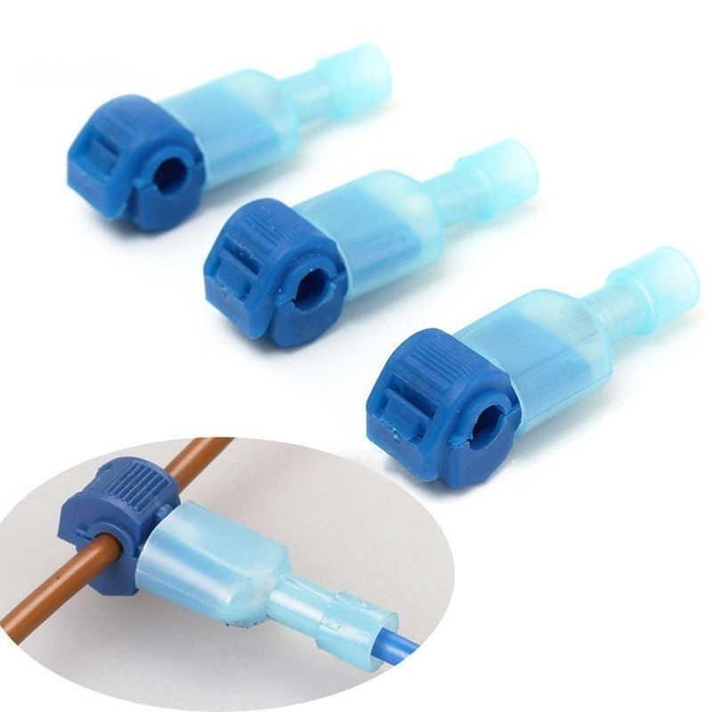 40Pcs Quick Elektrische Kabel Connectors Snap Splice Lock Draad Terminals Crimp