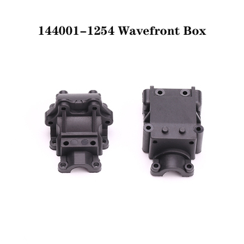 WLtoys 144001 RC Car Spare Parts 4WD Metal Chassis 144001-1254 Wavefront Box 1/14 Plastic jmt diy rc aluminum intelligent robot car tank chassis wall e caterpillar tractor crawler spare parts