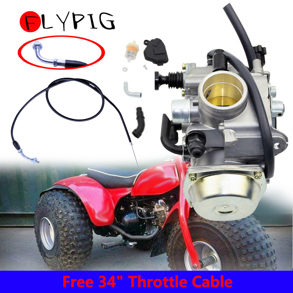 ATV QUAD BIKE THUMB LEVER THROTTLE for HONDA FOURTRAX TRX 250 300 420 500 680