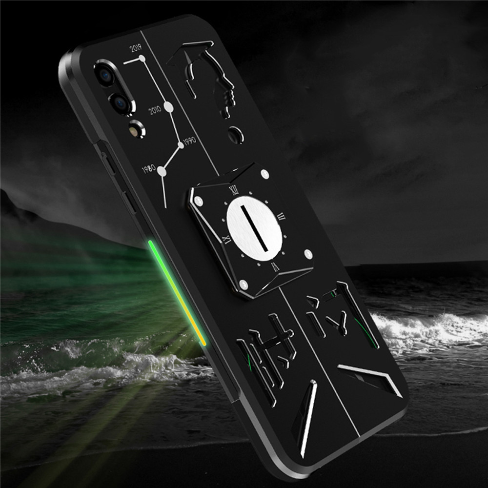 Metal Smartphone Protective Shell Case Back Cover for Xiaomi Black Shark 2/ 3 Pro Gaming Phone Dissipate Heat