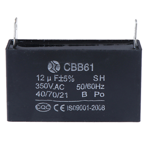 Image 1 - CBB61 12 미크로포맷 50/60Hz 350VAC 팬 모터 발전기 커패시터 검정 12 미크로포맷 발전기 커패시터 생성기