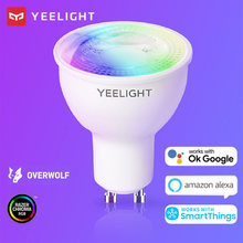 Yeelight GU10 Smart LED Bulb W1 Multicolor Lamp RGB Dimmable Smart App control for Google Assistant Alexa SmartThings 4.5W 220V