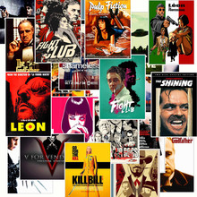 25Pcs Classic Movie Posters Graffiti Stickers for Motorcycle Car Bicycle Skateboard Suitcase Luggage Laptop Phone Guitar Sticker
