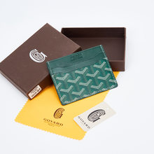 2021 New Fashion Card Men's and Women's Small Storage BAG Leather Element Wallet ID