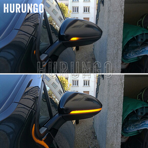 Image 2 - 2 pçs para vw golf mk7 7.5 7 gti r gtd dinâmico pisca led sinal de volta para volkswagen rline sportvan touran espelho lateral luz