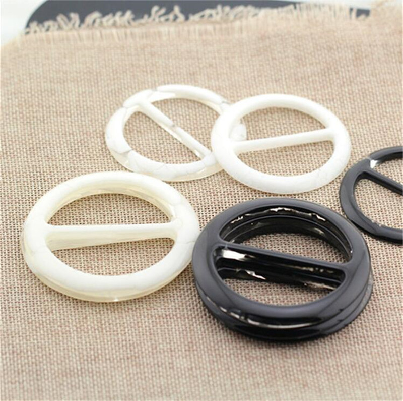 2pcs Fashion Resin Belt Buckle Inner Diameter 30mm Adjustable Buckled Buttoned Garment Clasp DIY Women Belts Buckle Accessories