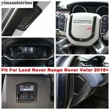 Интерьер для land rover range velar 2018  2021 панель приборной