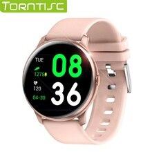 Torntisc 2019 akıllı saat Erkekler Kadınlar Su Geçirmez IP67 Kalp Hızı Kan Basıncı Oksijen ios için akıllı saat Android Telefon