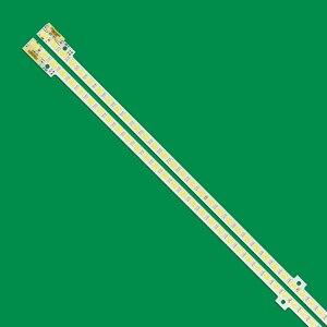 Image 4 - 2 adet LED şerit 72leds Samsung 46 2011SVS46 FHD 5K6K sağ + sol JVG4 460SMB R1 BN64 01644A UE46D5000 UE46D6000 UN46D6000
