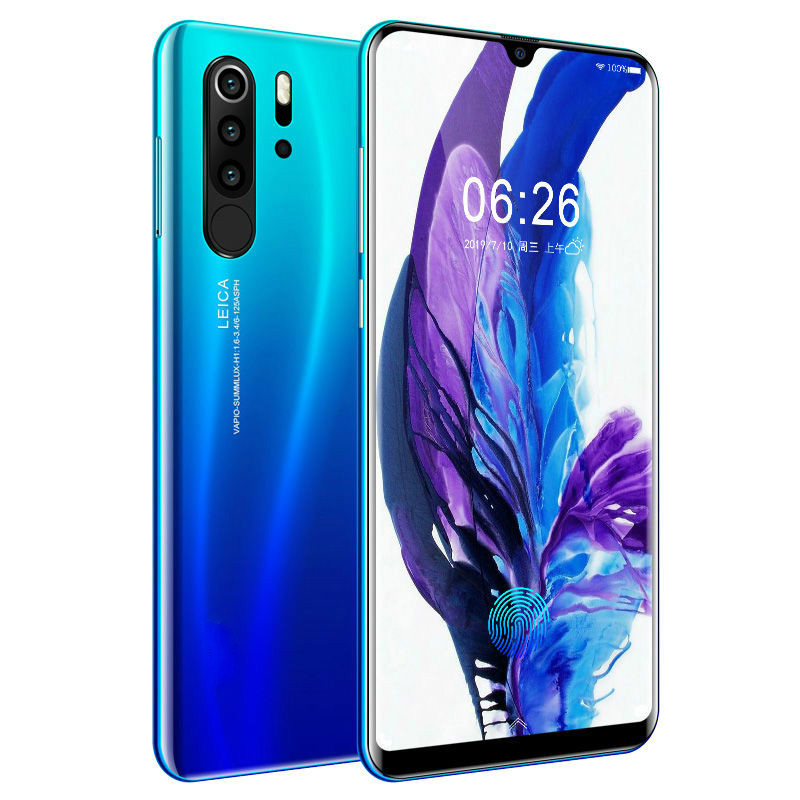 <font><b>Smartphone</b></font> Android <font><b>4G</b></font> P30 pro Cellphones European Asian 6.3 Inch <font><b>Dual</b></font> <font><b>Sim</b></font> Unlocked Mobile Phone Water Drop Screen image