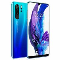 Smartphone Android 4G Badidear P30 pro Cellphones European Asian 6.3 Inch Dual Sim Unlocked Mobile Phone Water Drop Screen