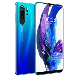 Image 1 - Smartphone Android 4G  P30 pro Cellphones European Asian 6.3 Inch Dual Sim Unlocked Mobile Phone Water Drop Screen