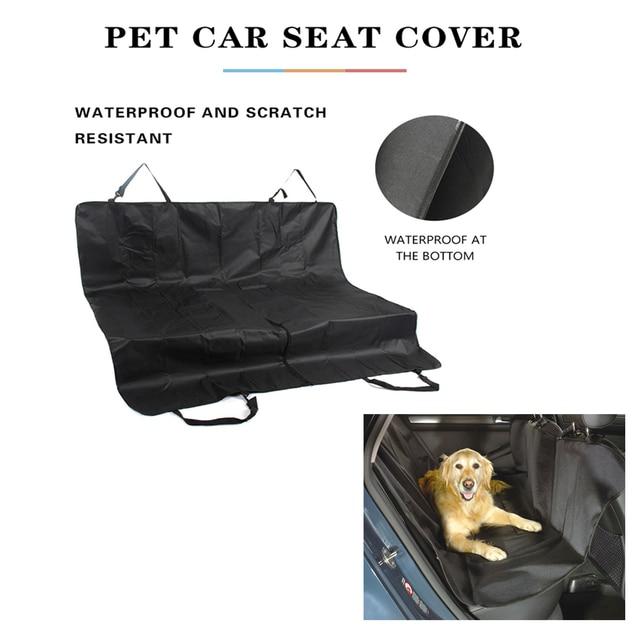 Foldable Waterproof Pet Car Mat  1