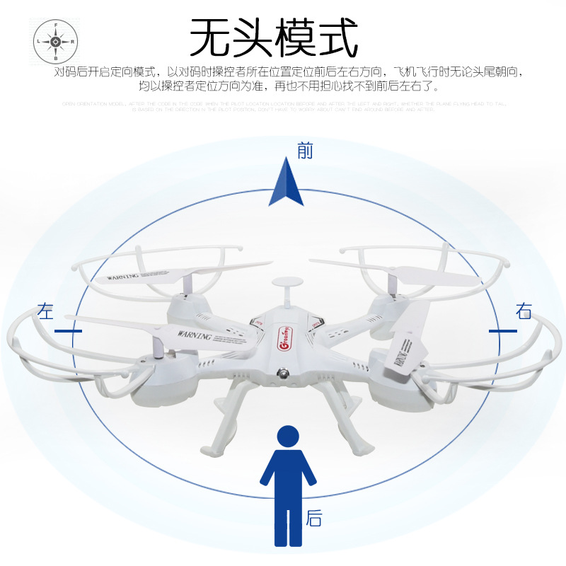 Children Remote Control Cx008 Toy Unmanned Aerial Camera Remote Control Aircraft One-Button Take-off Set High Quadcopter