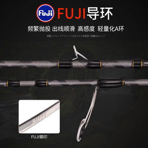Image 2 - Free shipping!!MADMOUSE Full Fuji Parts Trout Rod 1.42m/1.68m Portable Rod Wood Handle Solid Carbon Spinning/Casting Fishing Rod
