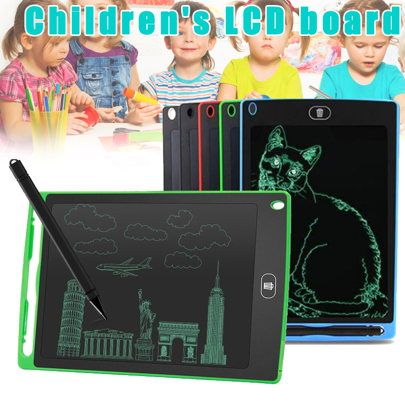 Children LCD Writing Board Small Blackboard Painting Drawing Board For Kids M09
