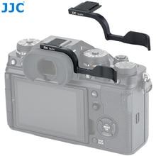 JJC – poignée de pouce en métal de luxe, pour Fujifilm Fuji XT4 XT3, Support de pouce avec housse de protection de chaussure chaude, poignée dappareil photo