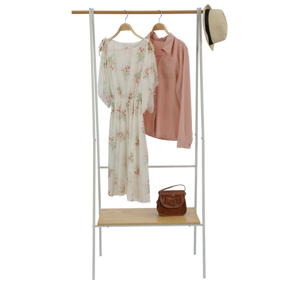 Multifunction Coat Rack Simple Metal Hat Display Stand for Home Storage