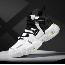 Hemmyi Mens Shoes Casual High-top Sneakers Shoes