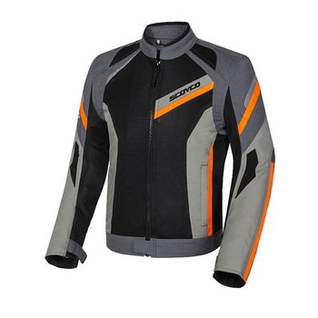 SCOYCO Motorcycle Jacket Summer Breathable Motocross Riding Jacket Moto Jacket Protective Gear Motoribke Racing Protection Armor