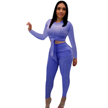 Autumn Sexy Lace Up Long Sleeve Knitted Women Jumpsuit Winter Black Fitness Slim Romper Female 2 Piece Suit Party Big Size S-3XL недорого
