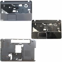 도시바 위성 L850 L855 C850 C855 C855D 용 새 케이스 커버 터치 패드/노트북 밑면베이스 케이스 커버가없는 손목 받침대 커버