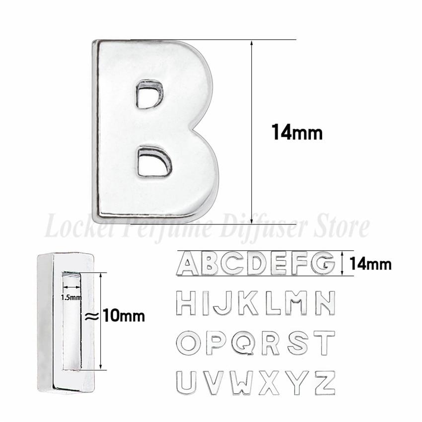 10mm-铬色光面-字母穿戴-尺寸整体图 - 副本