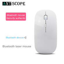 Antscope New High Quality USB Optical Wireless Computer Mouse 2.4G Receiver ultra-thin wireless optical mouse PC Laptop