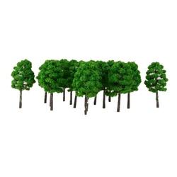 Lot 20PCS Model Tree Scale Train HO N Electronic Scenery Jouef 1: 150 7cm