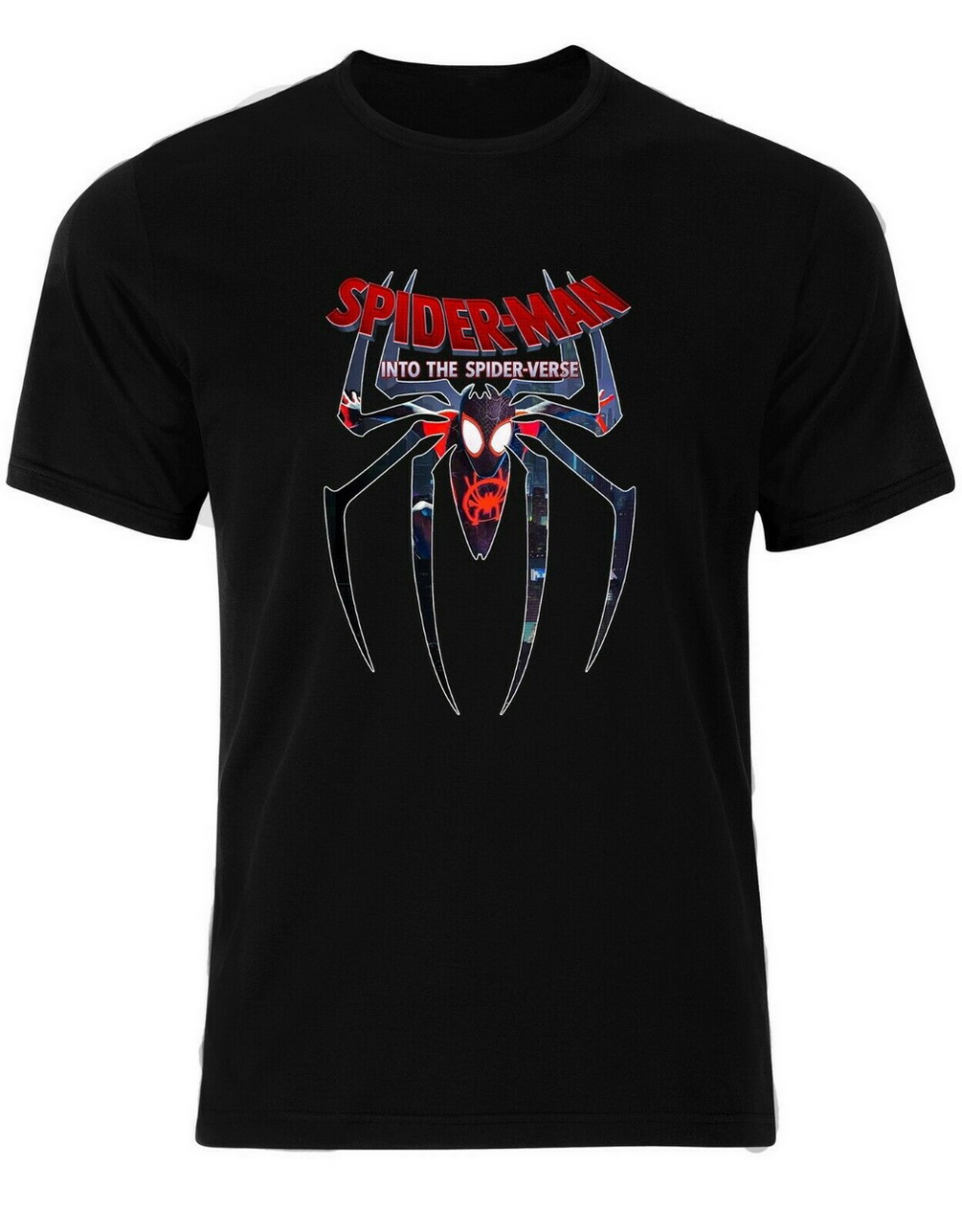 Spiderman Into The Spider Verse Miles Morales Marvel Universe Mens Tshirt An37 Harajuku Tops Fashion Classic Tee Shirt T Shirts Aliexpress