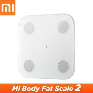 Image 1 - מקורי Xiaomi Mijia חכם בית גוף הרכב בקנה מידה 2 Mi Fit App חכם Mi גוף שומן בקנה מידה 2