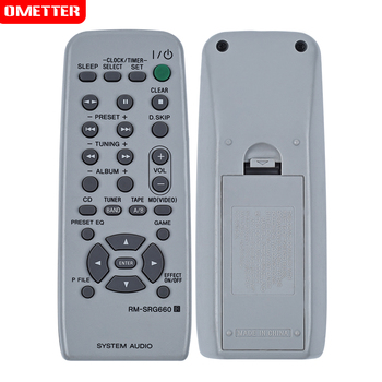use for SONY RM-SRG660 system audio remoto control fit for sony MHC-RG330 MHC-RG440S