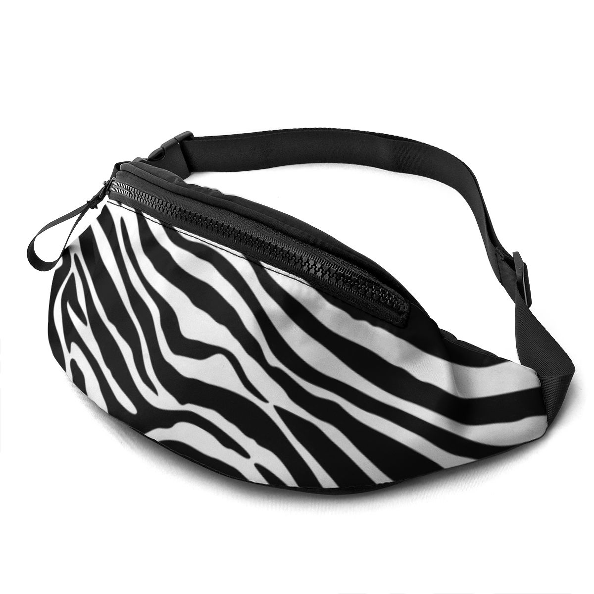 NOISYDESIGNS 2020 Newest Hot Unisex Women Man Waist Pack Belt Travel Bag Purse Chest Pack Street Style Zebra Pattern Printed