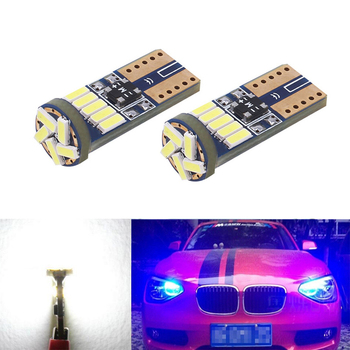 2x Canbus Car LED T10 W5W 15LED Parking Light For BMW E46 E39 E91 E92 E93 E28 E61 F11 E63 E64 E84 E83 F25 E70 E53 E71 E60 image