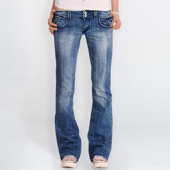 Damskie jeansy 2020 damskie jeansy rozkloszowane Vintage dżinsy z prostymi nogawkami myte dżinsy dla mamy casualowe spodnie jeansowe Femme workowate dżinsy spodnie tanie i dobre opinie LASPERAL Poliester Pełnej długości CN (pochodzenie) Osób w wieku 18-35 lat Women Jeans Streetwear Zmiękczania Przycisk fly