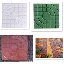 27x27x4 см DIY квадратная искусственная плитка из пропилена садовая аллея аксессуары для зданий