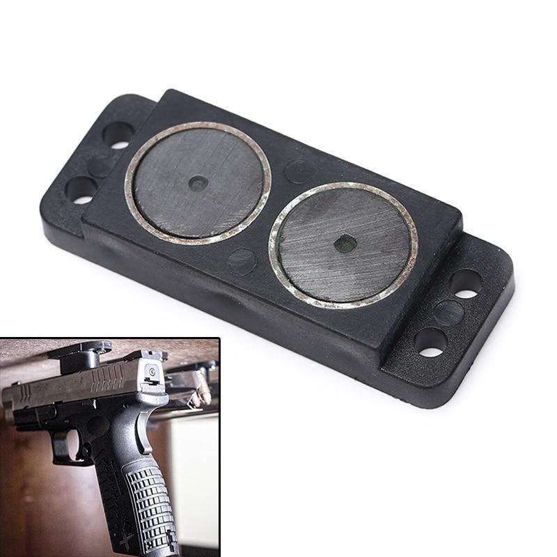 1pcs Plane Gun Magnet Concealed Electromagnetic Gun Bracket Holster For Bedside Cabinet Rated Car Magnet