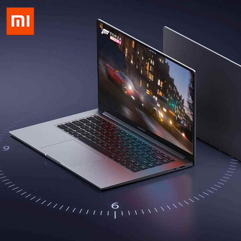 cheapest Xiaomi Redmibook 14 inch Laptop Intel Core i5-10210U i7-10510U NVIDIA GeForce MX250 8GB 512GB SSD DDR4 Win10 Ultra-Thin Notebook