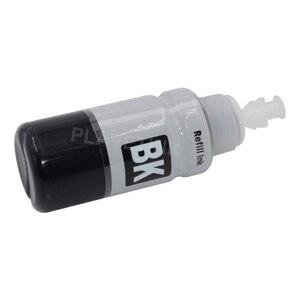 Plavetink 70 мл бутылка чернил принтера для T6641 T6642 T6643 T6644 картридж для Epson EcoTank L120 L310 L380 L396 L455 L495 L575