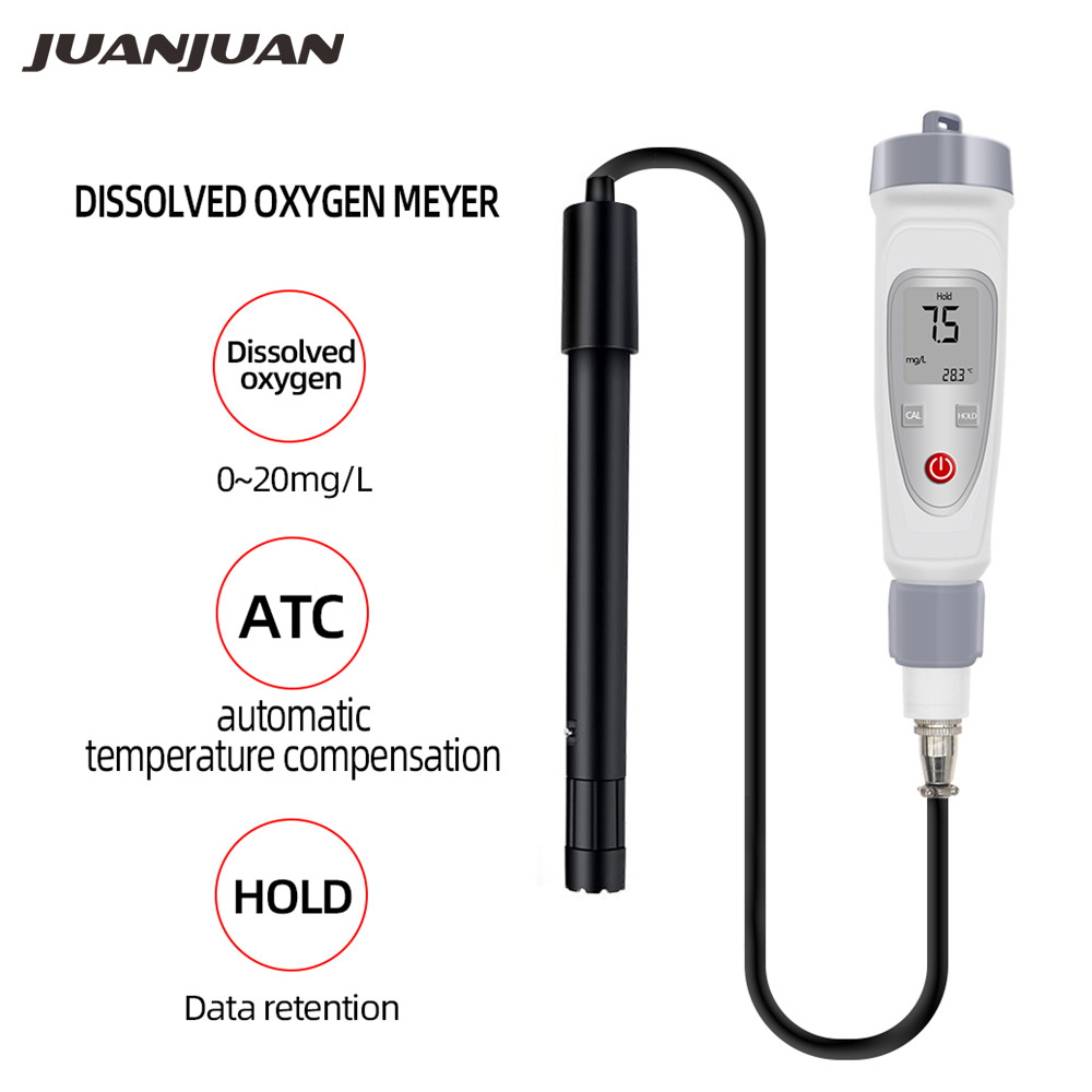 High Precision Professional Pen Style Portable Digital Dissolved Oxygen Meter 0-20mg/L O2 Water Quality Dissolved Oxygen Meter